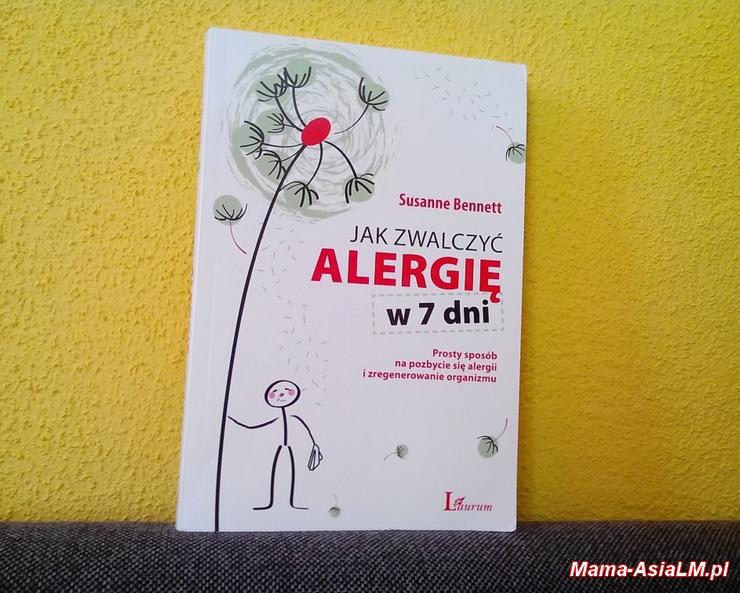 jak zwalczyć alergię w 7 dni okładka książki Susanne Bennett