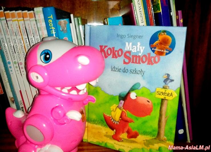 Mały Koko Smoko idzie do szkoły - Ingo Siegner - okładka książki