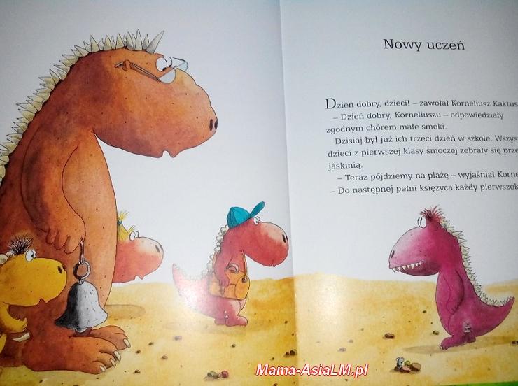 Mały Koko Smoko idzie do szkoły - koksek i Oskar dwa smoki