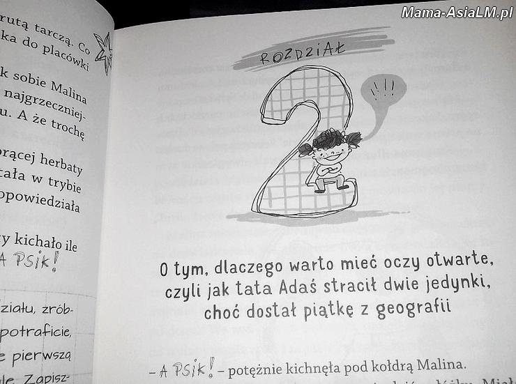 Malina - cud dziewczyna - Pakosińska - rodział drugi ilustracja