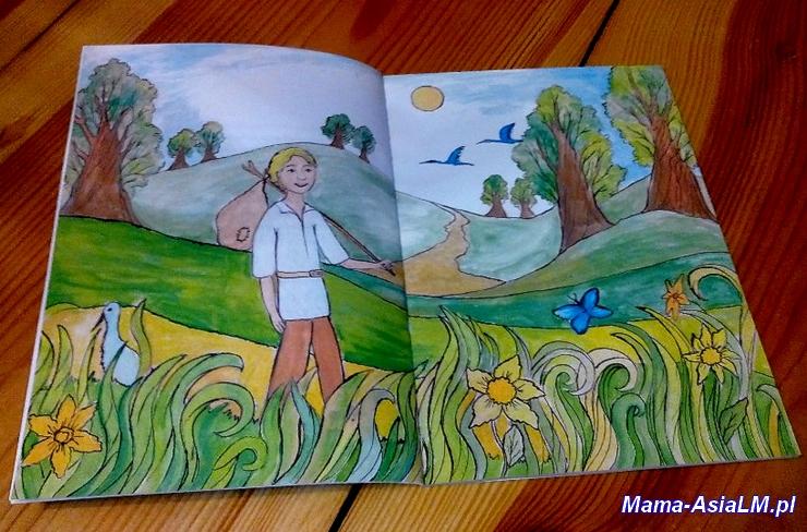 Tajemnicza Kraina ilustracja Janka