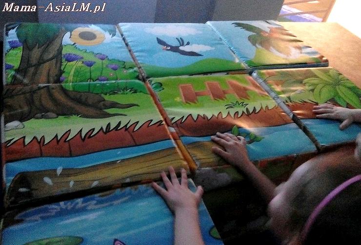 Babyplanet sala zabaw  puzzle maxi
