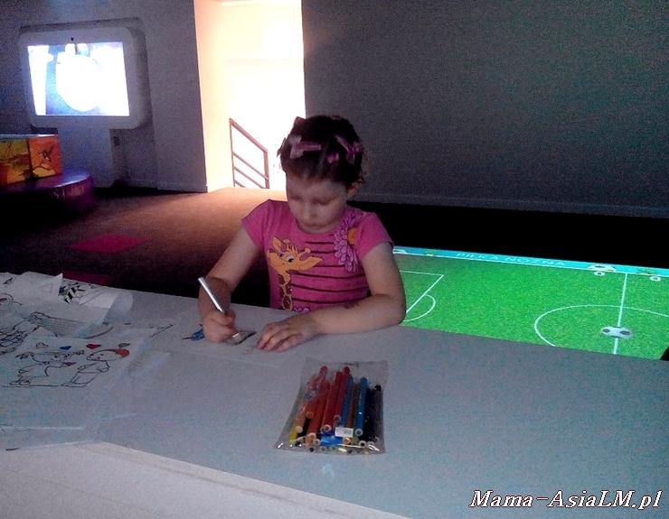 Babyplanet sala zabaw  zjeżdżalnia plac zabaw  rysowanie