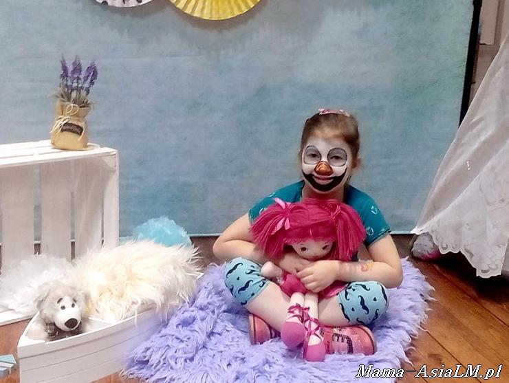 MAMblog II Targi Rodzice i Dzieciaki olaf malowanie buzki