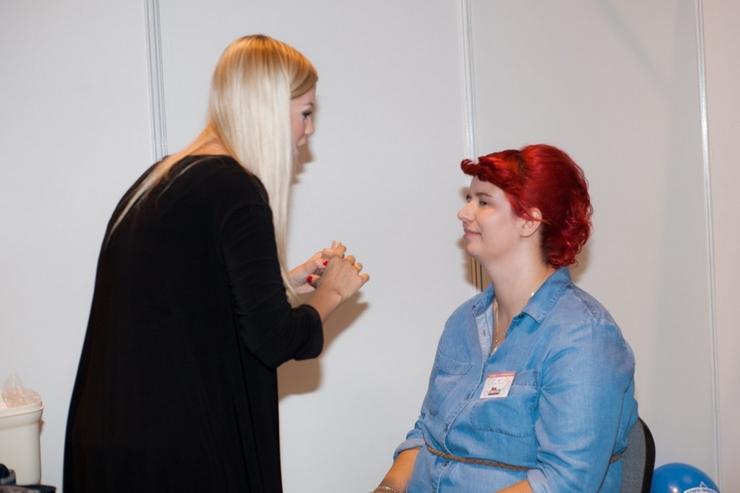 spotkanie blogujących mam MAMblog II metamorfoza makijaż