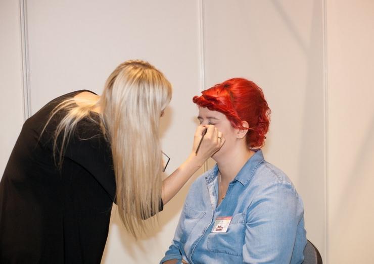 spotkanie blogujących mam MAMblog II metamorfoza makijaż Angeliki