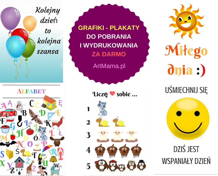 darmowe grafiki do druku artmama.pl