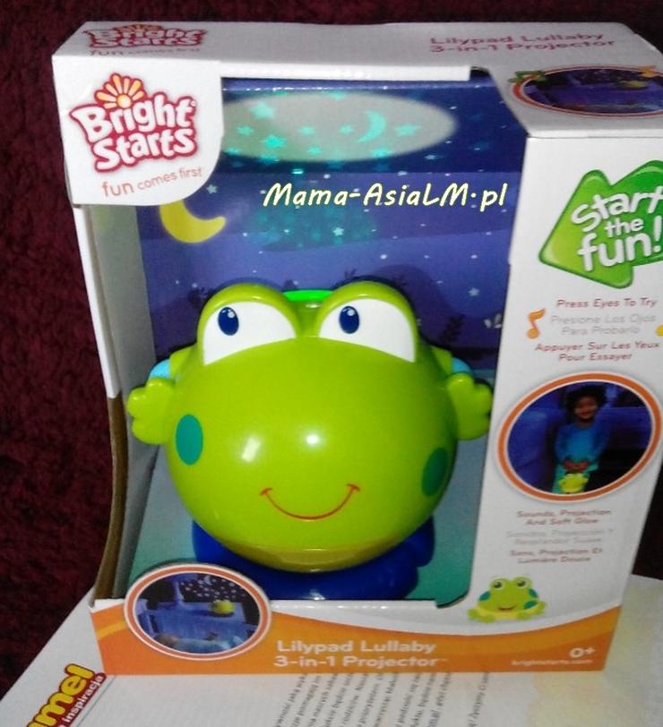 żabka projektor lampka pozytywka dumel bright starts