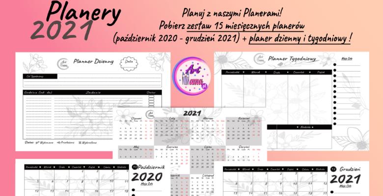 planer 2020 2021 dzienny tygodniowy miesięczny roczny