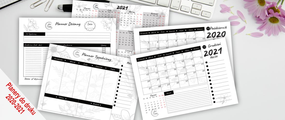 Kalendarz Planer PDF Do Pobrania Do Druku Za Darmo
